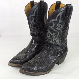 Tony Lama Cowboy Boots Men's Size 12